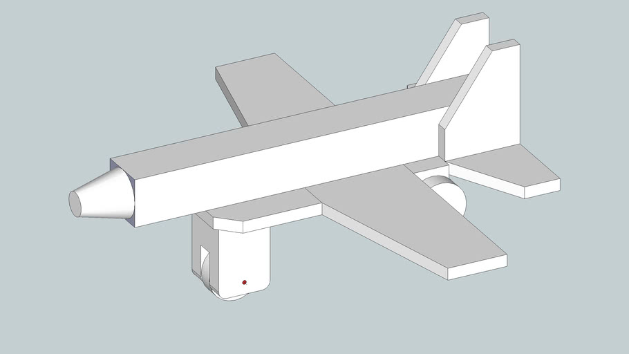 Large wood model plane that can be re-assembled
