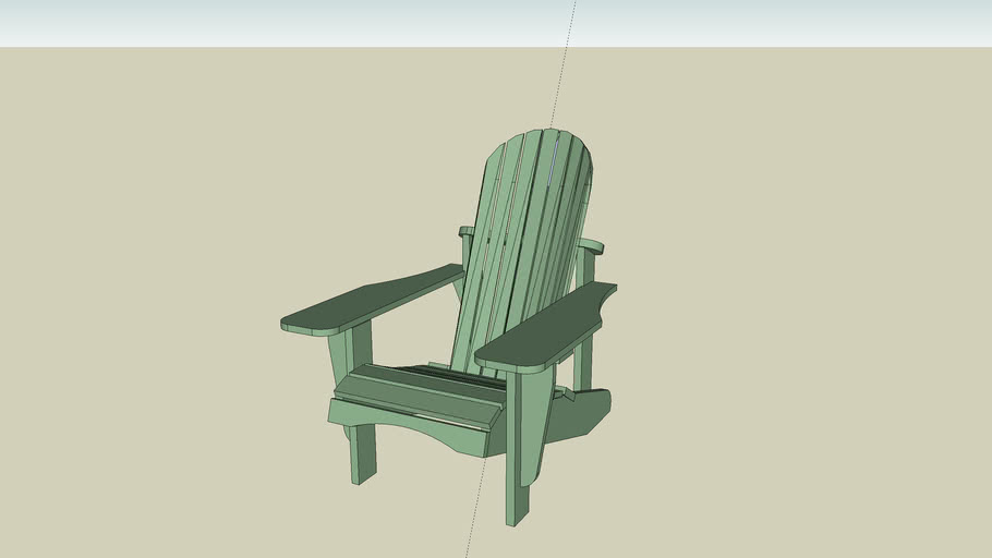 Adirondack Chair from Fine Woodworking