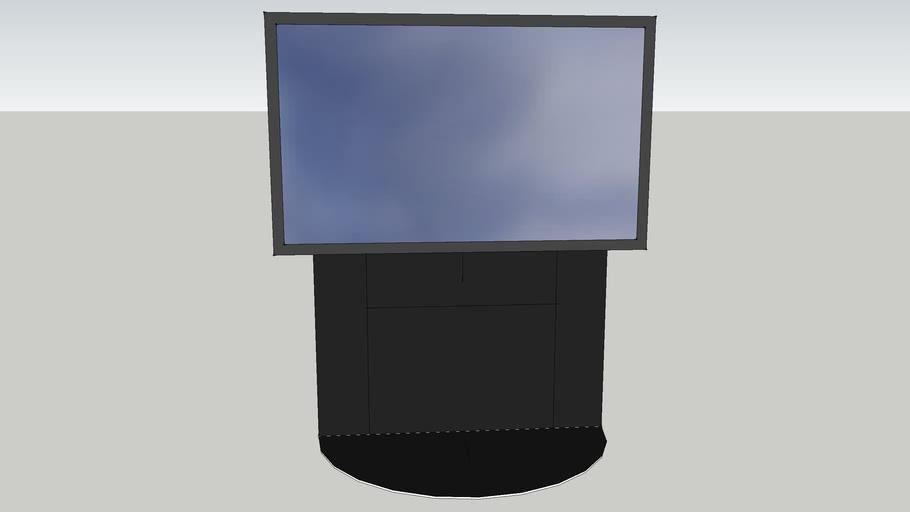 QAV Acoustics TV Floor Stand and Samsung UE40B6000 LED TV