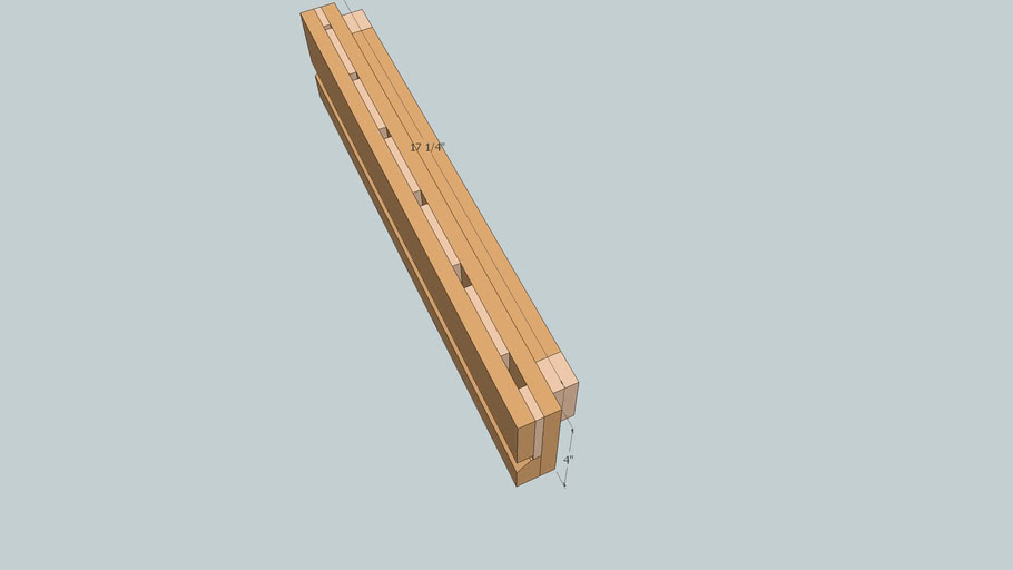 Chisel Rack from Popular Woodworking Magazine December 2003 Issue