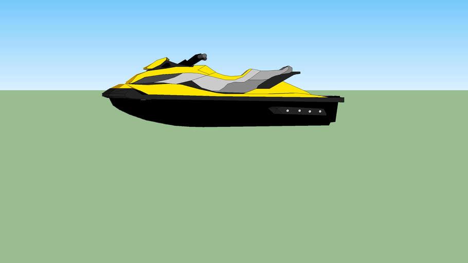 jet ski sea doo rxt 255