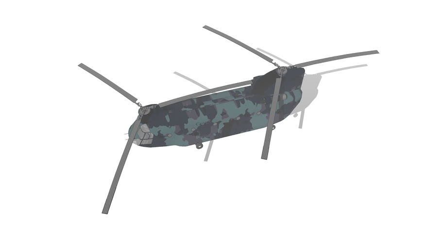 two-blade helicopter