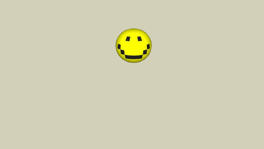 happy creepy thing face