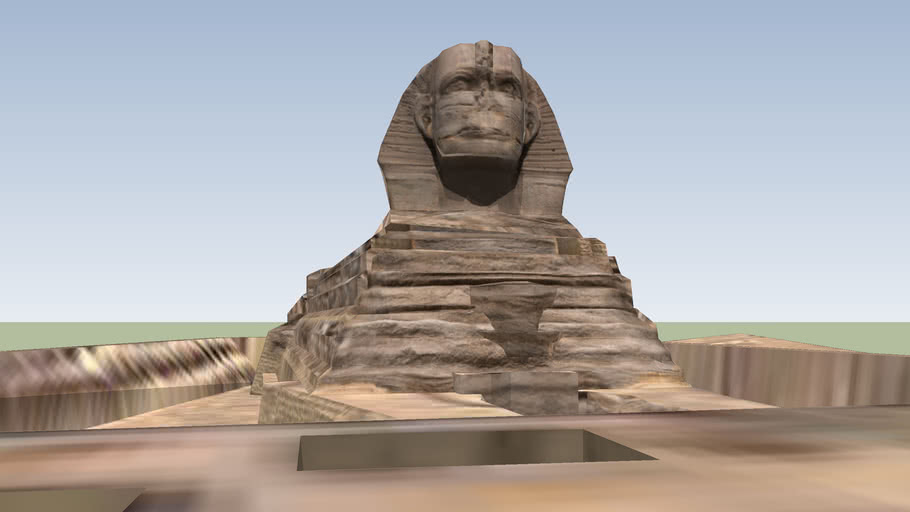 The Great Sphinx of Giza- Cairo, Egypt