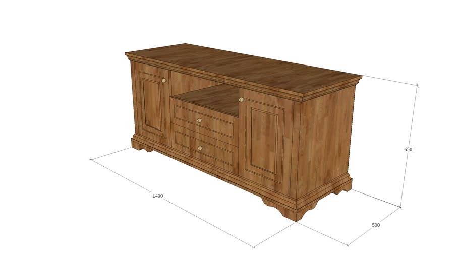 优圣斯谛家具_美式实木电视柜