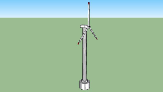 windmill generator, wiatrak prądotwórczy