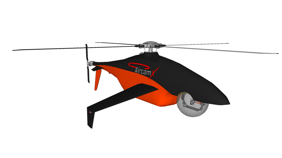 AircamX Camcopter 4.0 Full Fuselage
