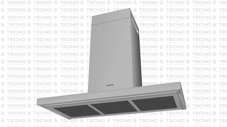 Coifa Flat de Parede TECNO Original - New TCP09