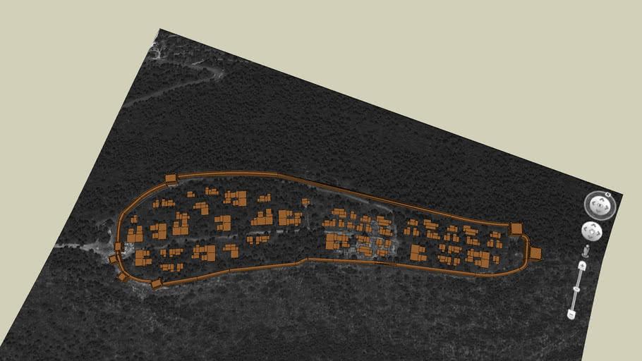 Poblado Ibérico - Iberian Settlement:  La Bastida de Les Alcusses, Moixent (Valencia), España - Spain