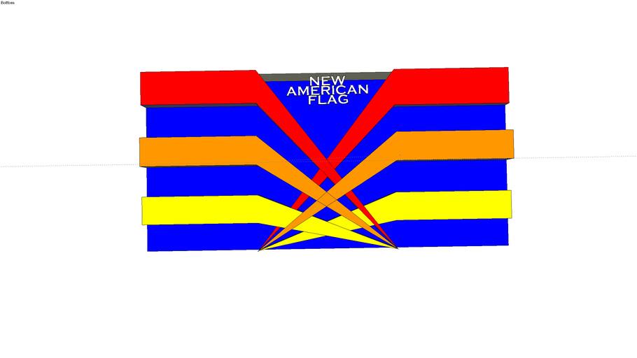 La nuova bandiera americana