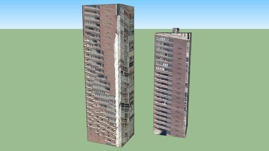 Wijhavenkwartier torens