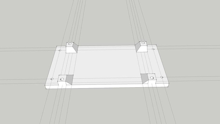 CO2 probe filter tray