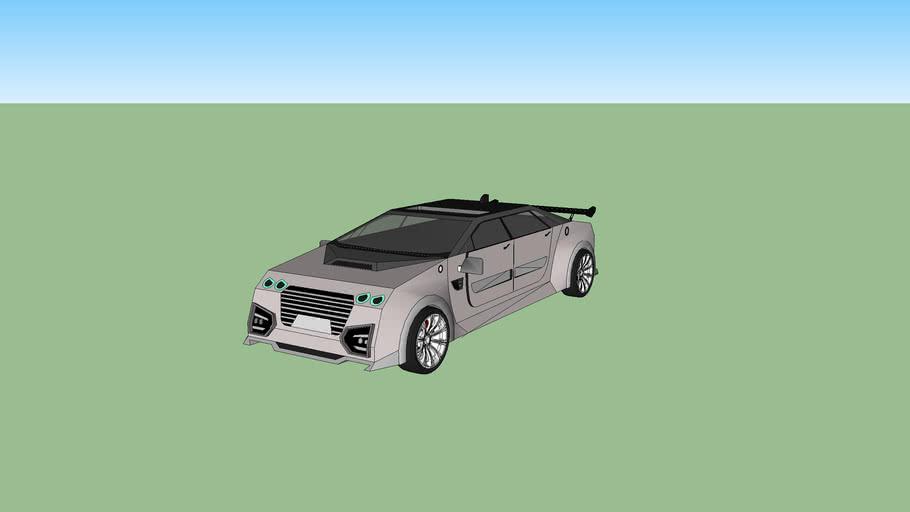 sedan car  design by akromolo