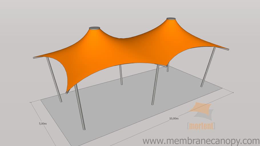 Membrane canopy - Conic model