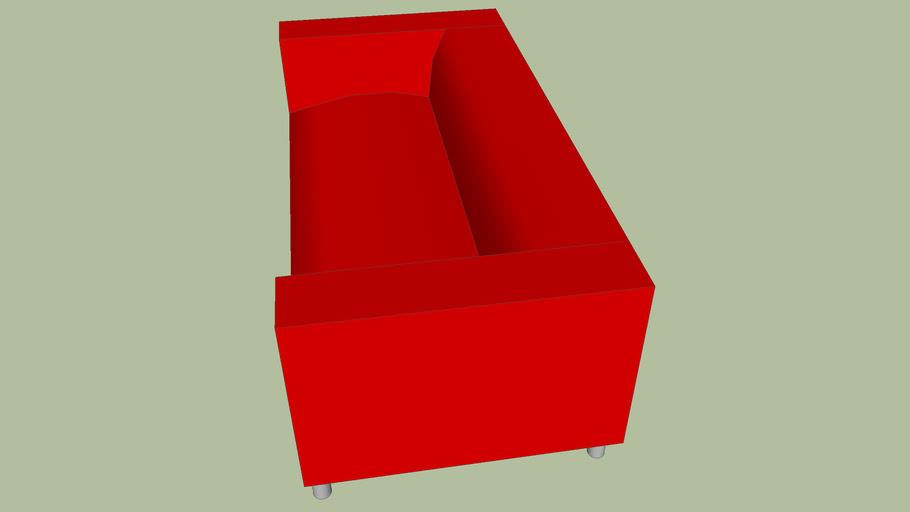lkea Red Sofa