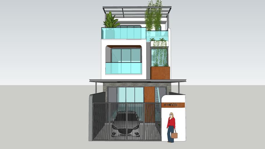 Nhà phố 2 tầng 5x15 - 2020 - The Modern House