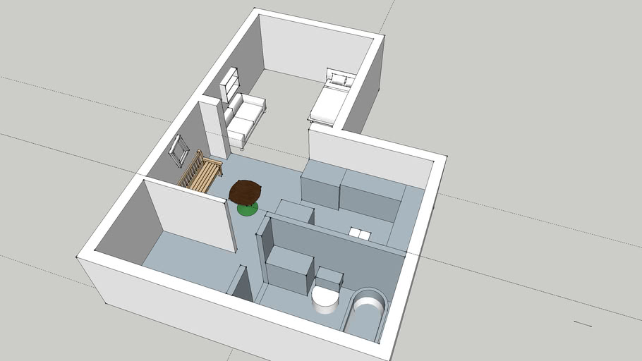 House Plan 3d Warehouse