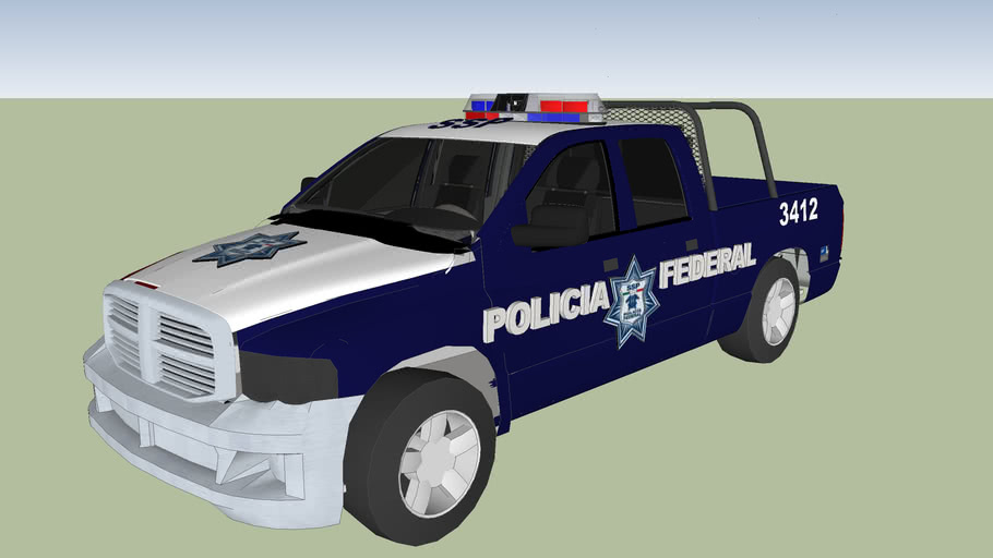patrulla de la policia federal preventiva  ssp pfp