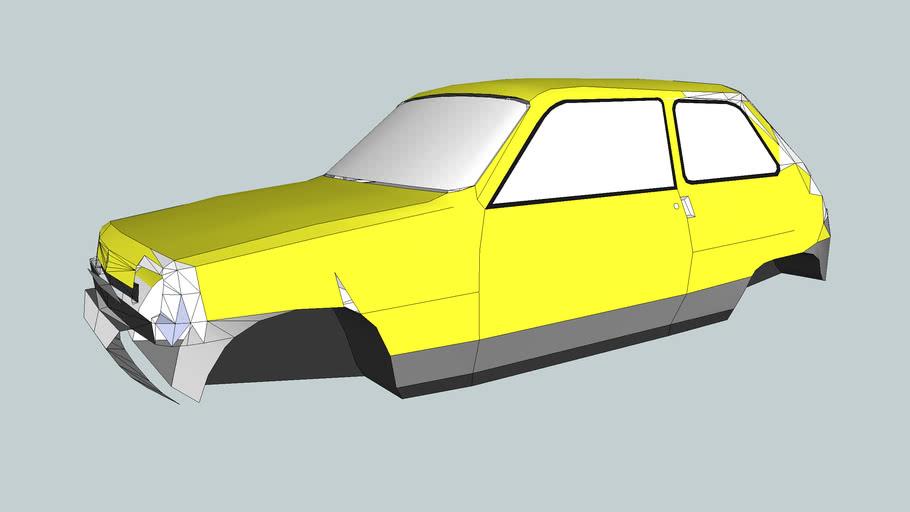 (Work in Progress) 1972 Renault 5