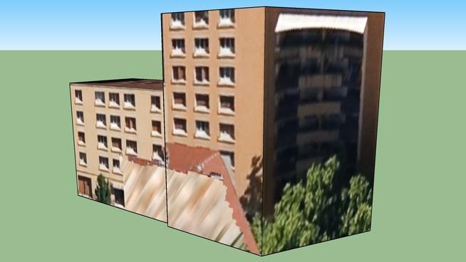 Construção em 69100 Villeurbanne, República Francesa