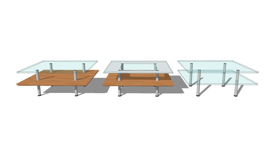 twoTier coffee table