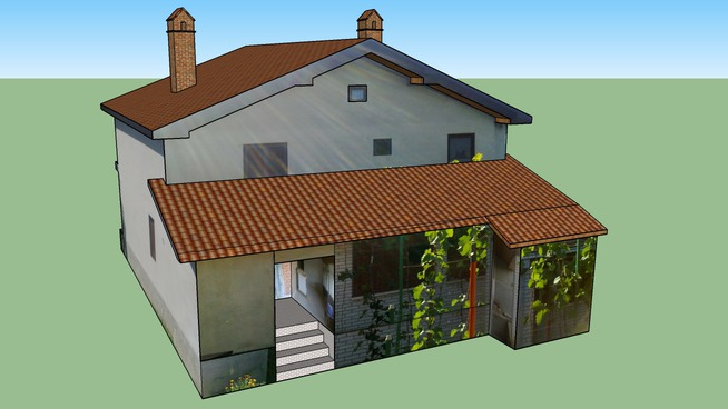 My first house model