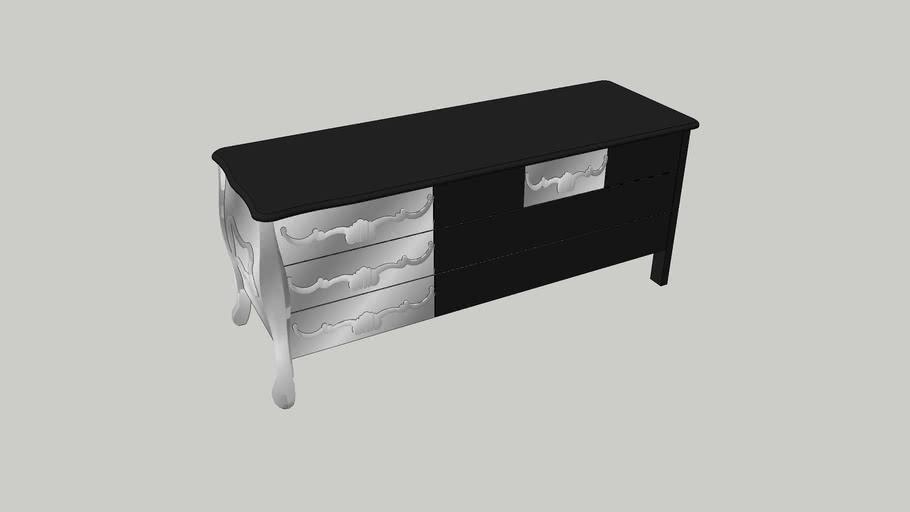 22611 Sideboard Janus Black (selected by Geissini)