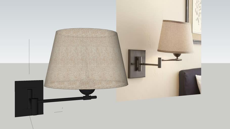 Jefferson Swing Arm Wall Lamp 3d Warehouse