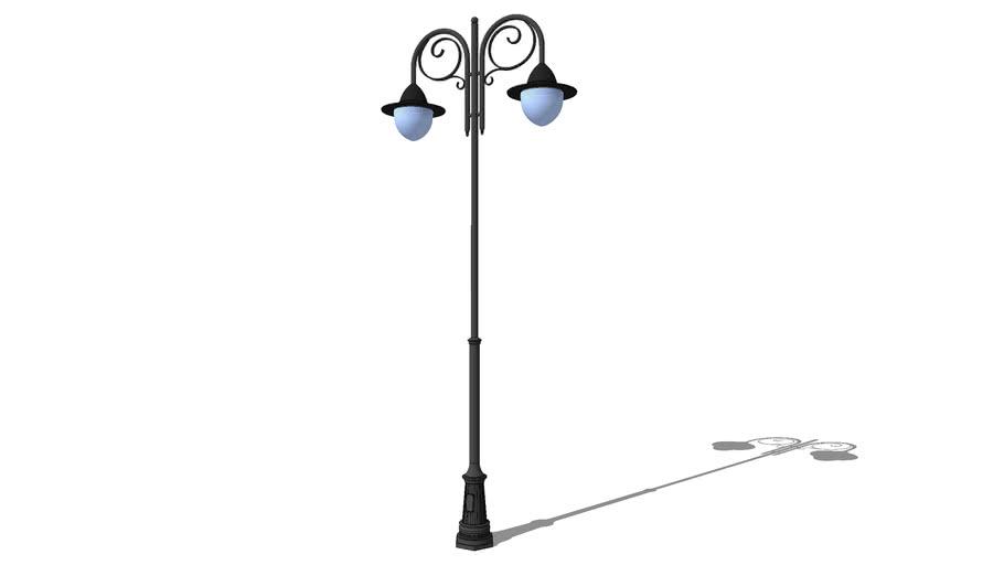 """Уличный фонарь Венеция 2 плафона / Streetlight """"Venice"""" street 2 lights"""