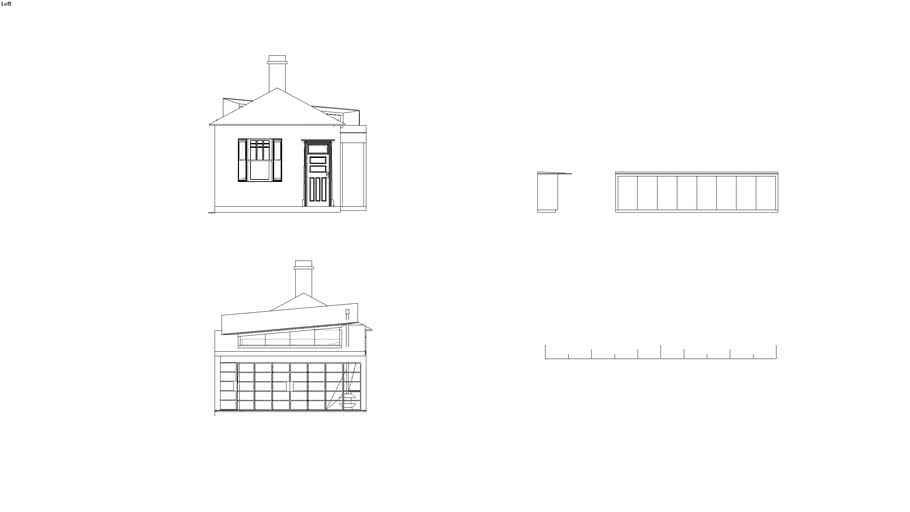 Rolland St East and West Elevations