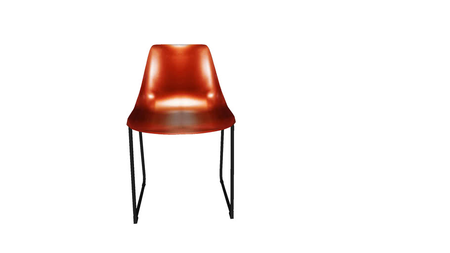 82708 Chair Colorado Shiny Red Copper