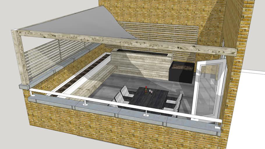 Roof Terrace Design 3d Warehouse
