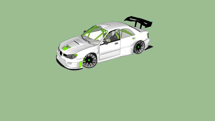 Subaru Impreza Wrx modded
