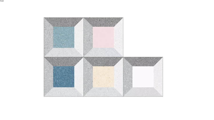 Patchwork Argileto Multicolor