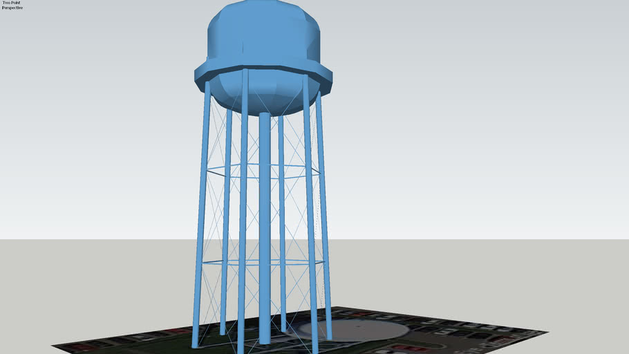 UVM Water Tower