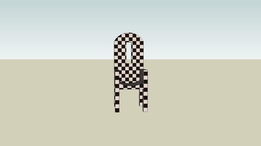 Racing Striped Chair