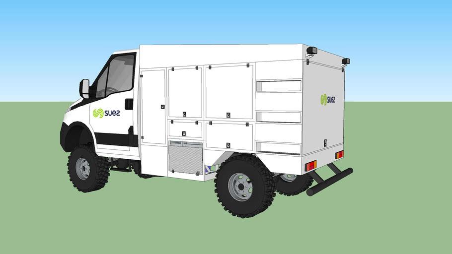 Simple Cabine 3480 V2 Portes fermés