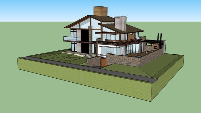 valles arquitetura casa fn