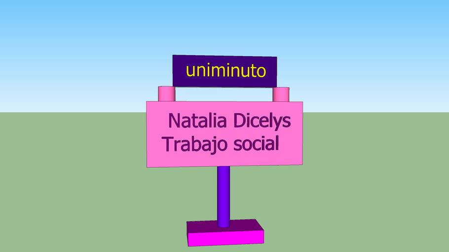 modelo 3D NATALIA DICELYS