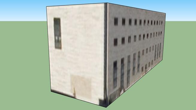 Gebäude in Madrid, Spanien