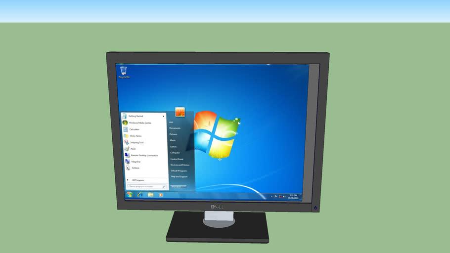 dell windows 7 monitor