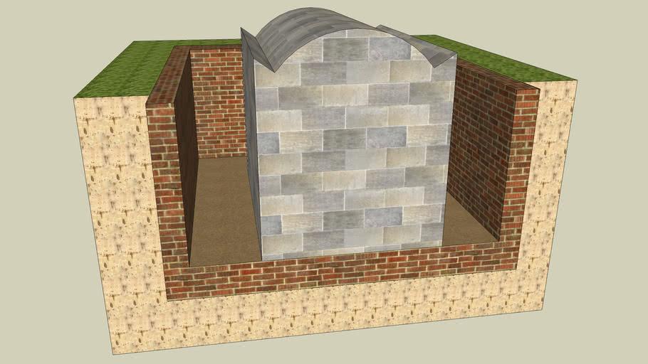 Tombe souterraine