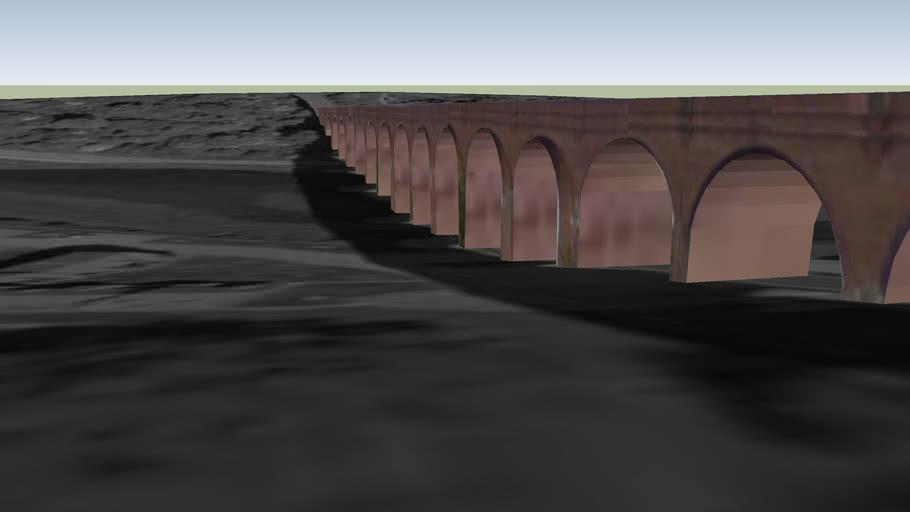 Larpool viaduct, Whitby
