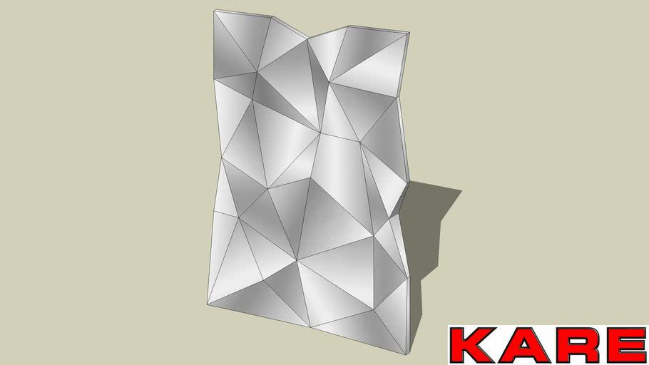 44897 Mirror Prisma 120x80 (Spiegel Prisma 120x80).skp
