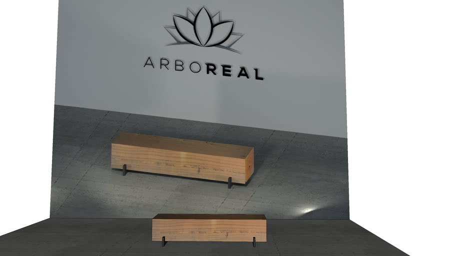 ArboREAL - Banco Bloco de Madeira