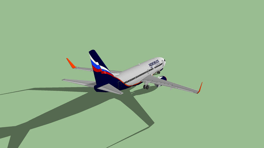 Boeing 737-200SP Aeroflot