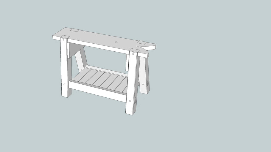 Sawbench from Woodworking Magazine Issue 6