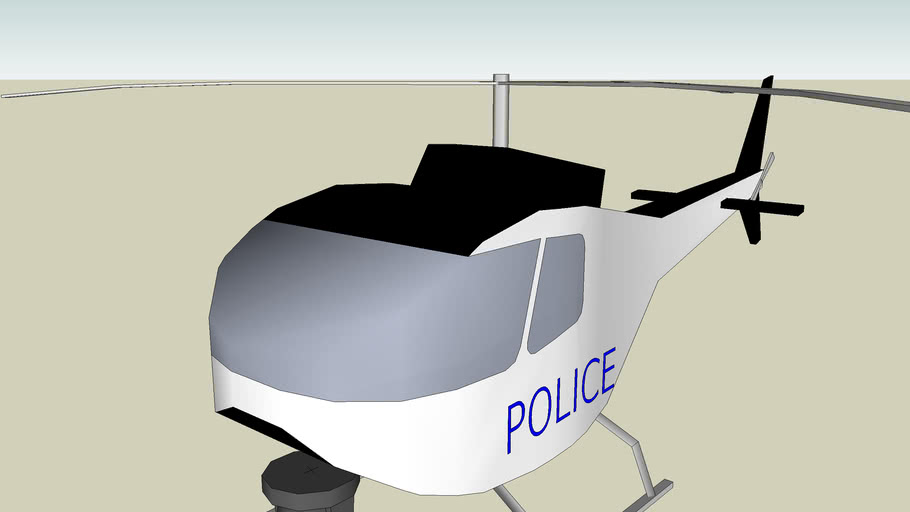 helicopter de police