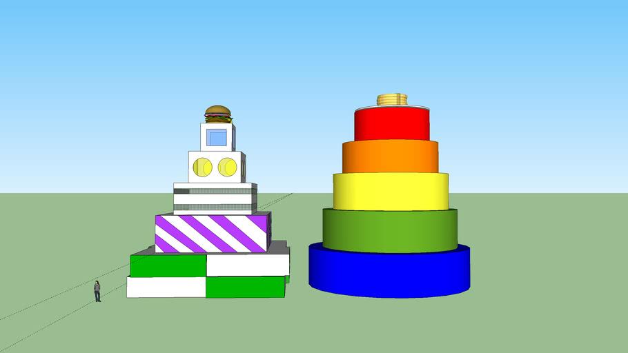 Cake Buildings