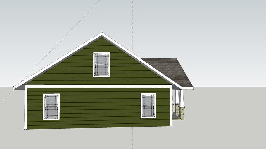32 x 40 Craftsman Style Home